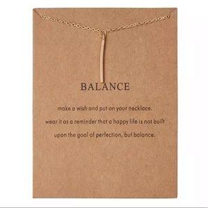 Jewelry - NEW!! ➖ Balance Necklace